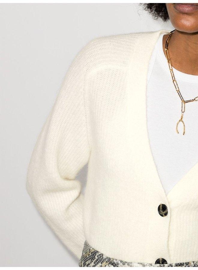 Soft Wool Knit Cardigan
