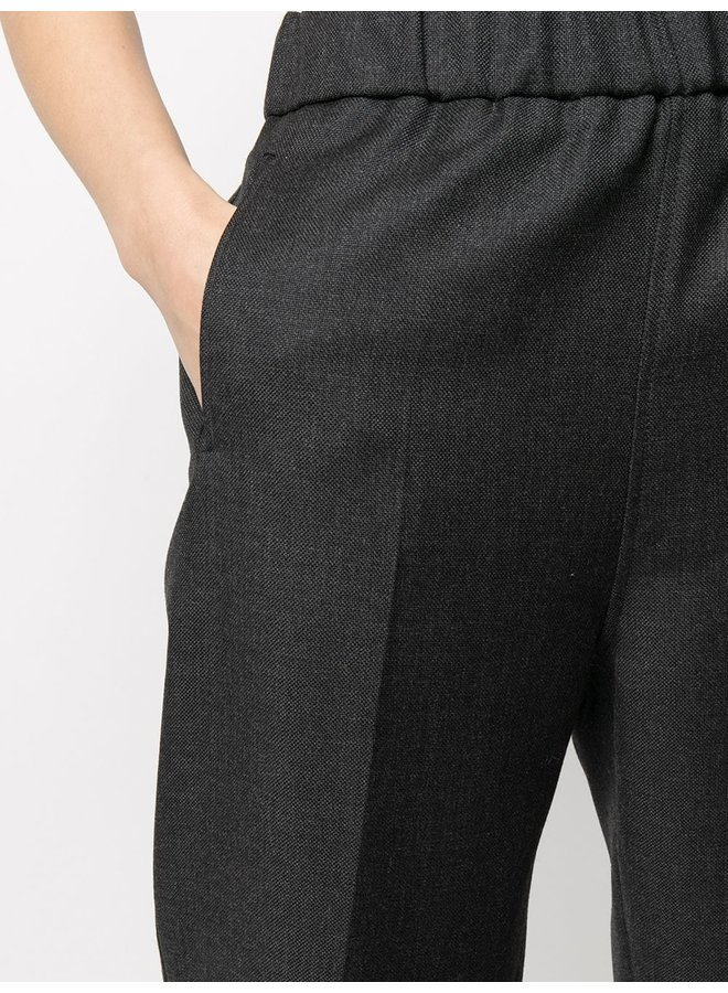 Wool Suiting Cuffed Trousers