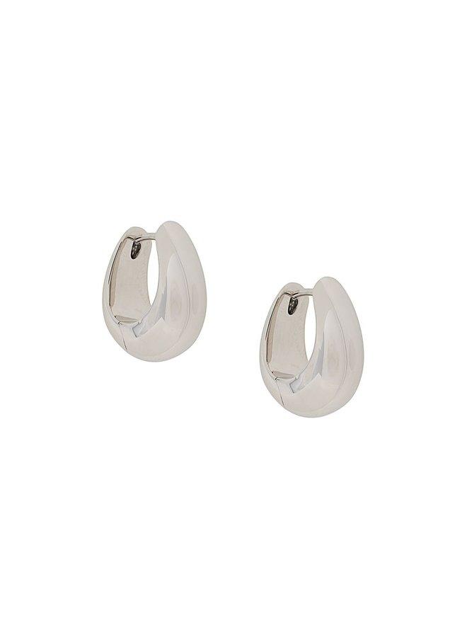 Small Ice Hoop Earrings