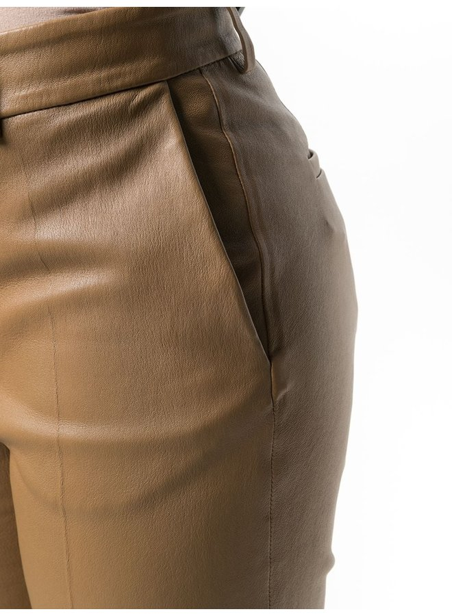 Coleman Leather Stretch Trousers