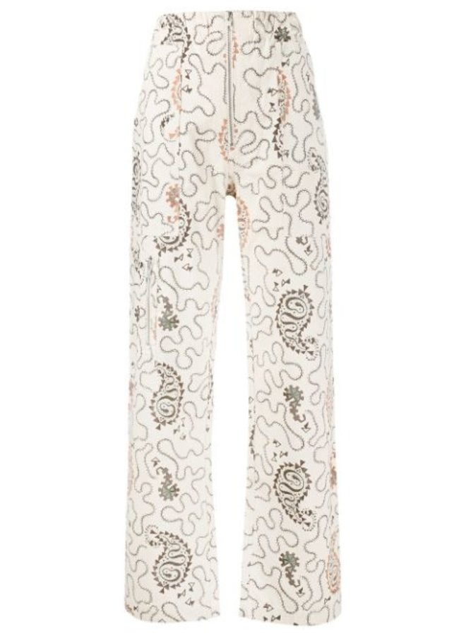Printed Noferis Trousers