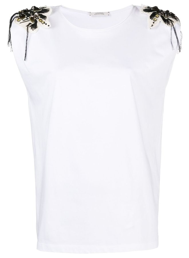 Cheeky Softness Embellished Top