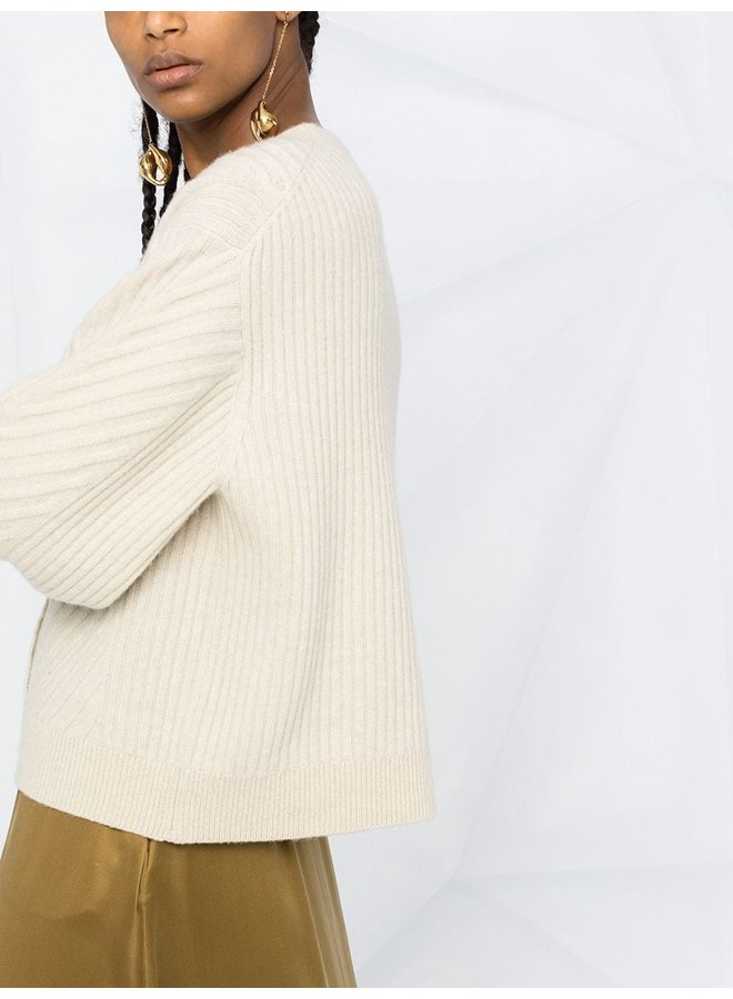 Urban Breath Lace Detail Knit