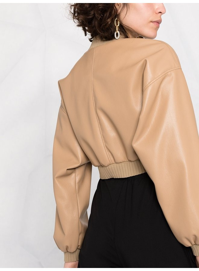 Sleek Performance Cropped Jacket