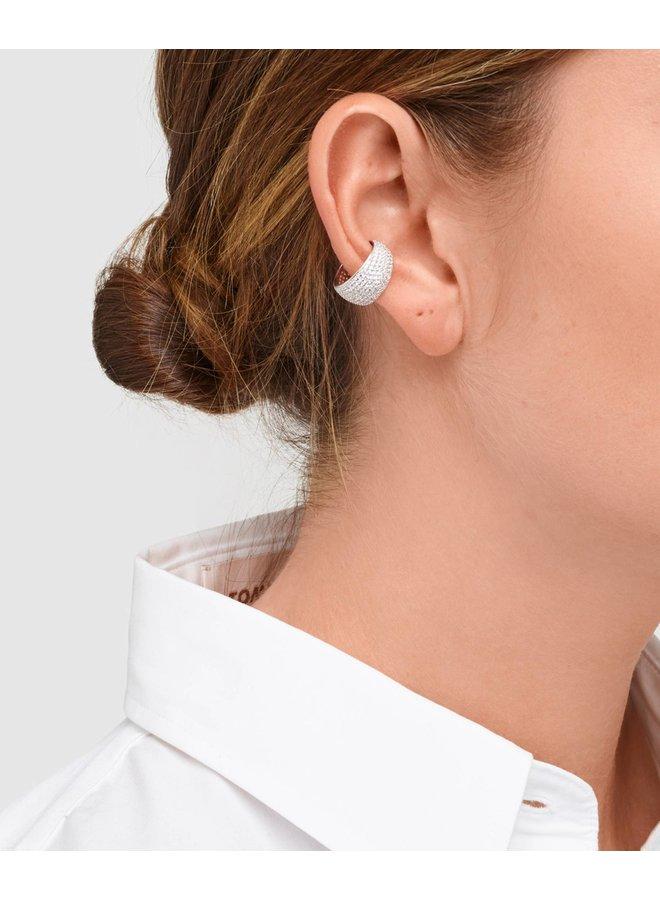Liz Ear Cuff  Silver