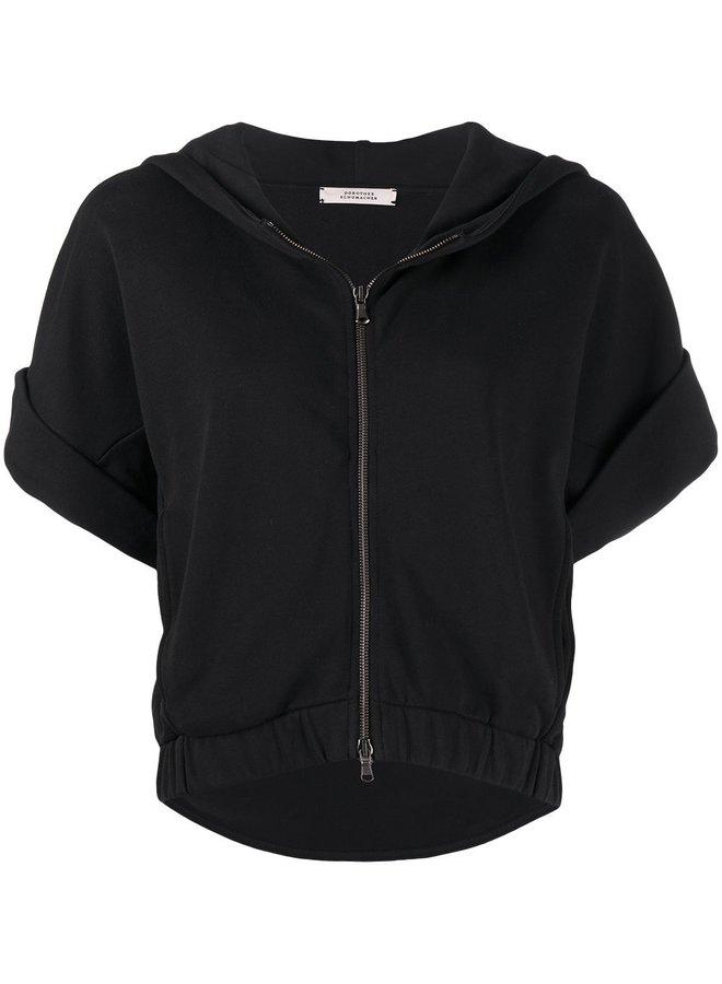 Casual Coolness  Sweatshirt Jacket
