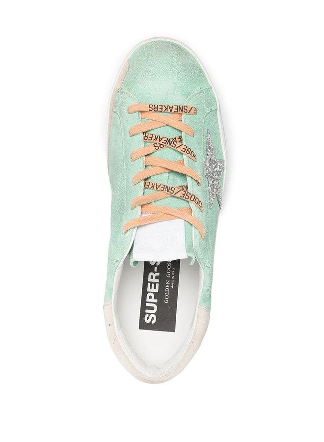 Superstar Sneaker Heel Glitter Star