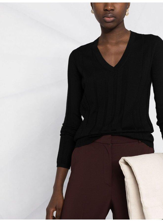 V Neck Fine Merinos Sweater