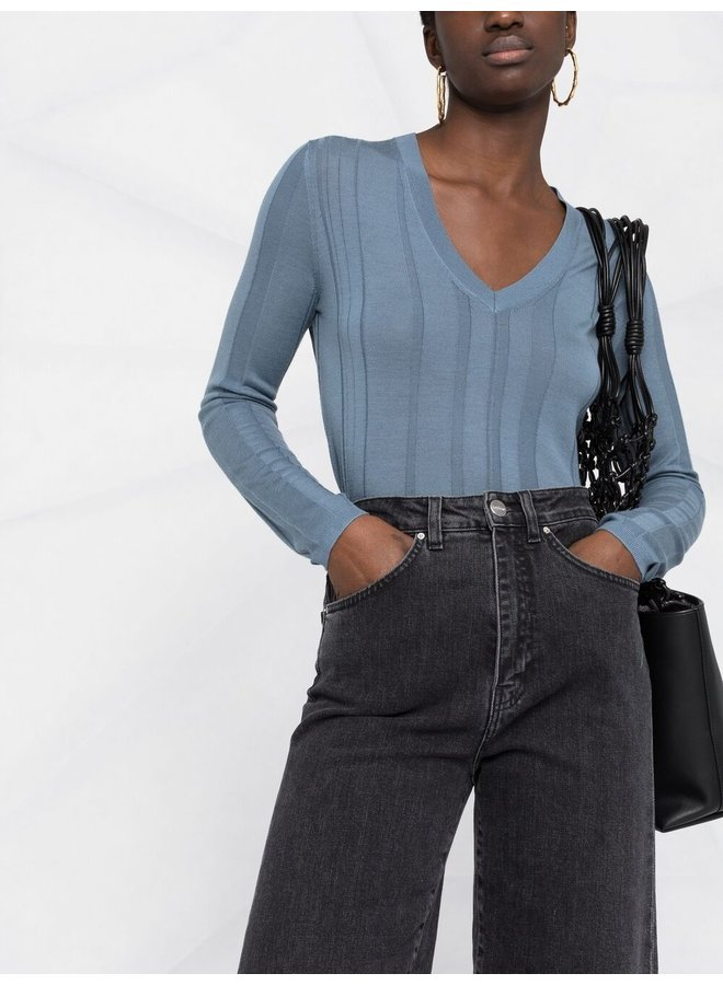 V Nk Fine Merinos Sweater