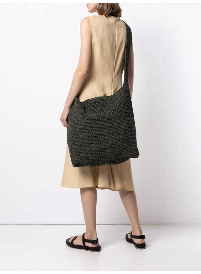 Hand Crochet Crispy Cotton Bag