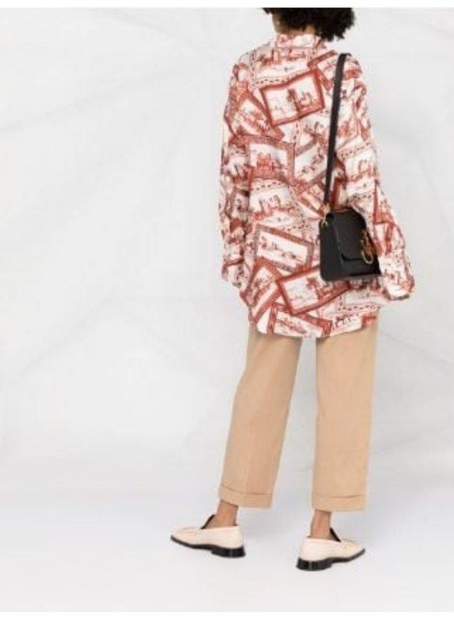 Trina Stretch Linen Cotton Trousers