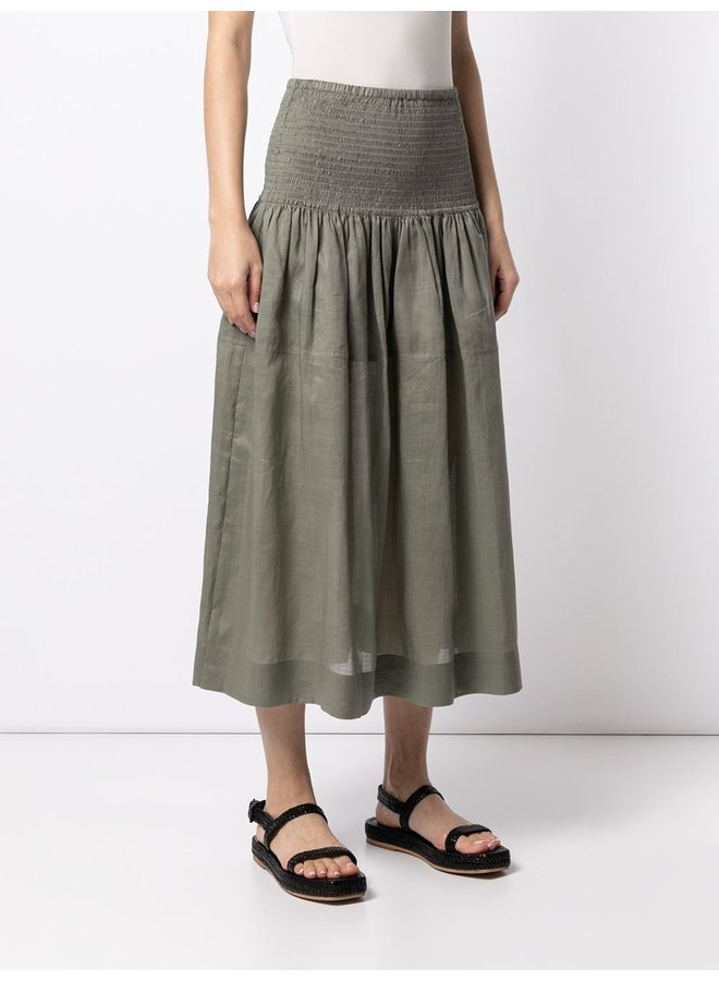 Senzo Ramie Voile Skirt