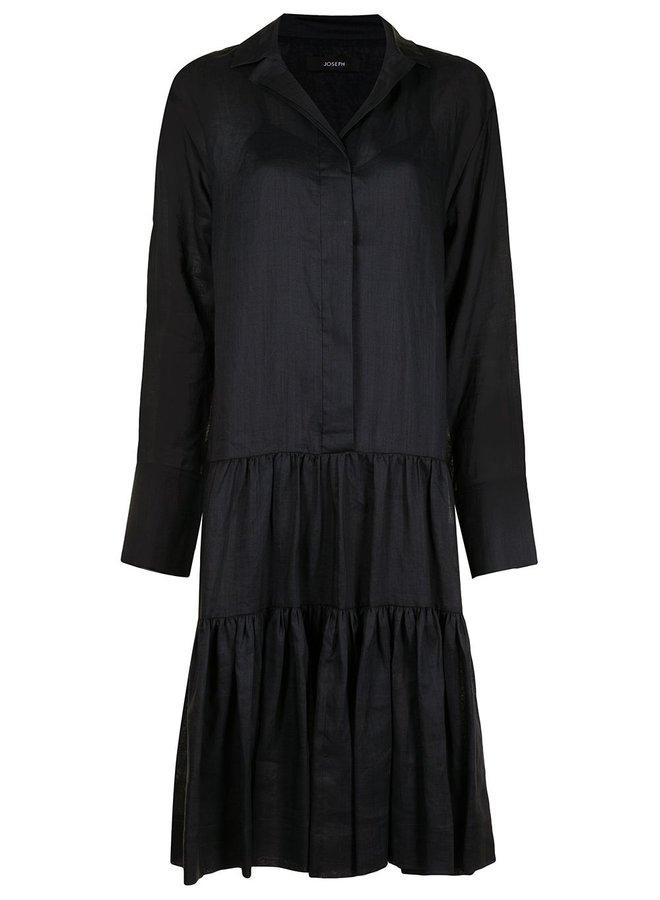Dan Ramie Voile Dress