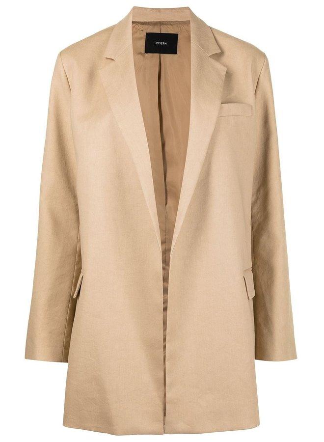 Julia Stretch Cotton Linen Jacket