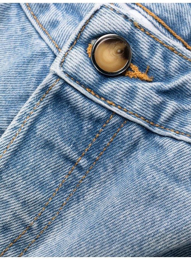 Overwashed Denim Jeans