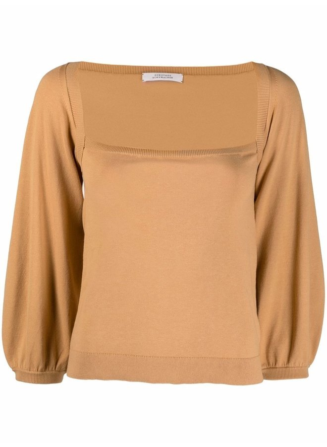 Structured Touch Pullover