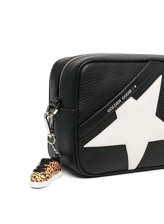 Hammered Leather Star Bag