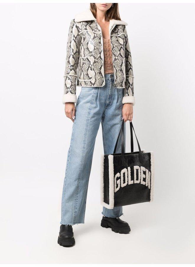 Merino & Cracked Body California Bag