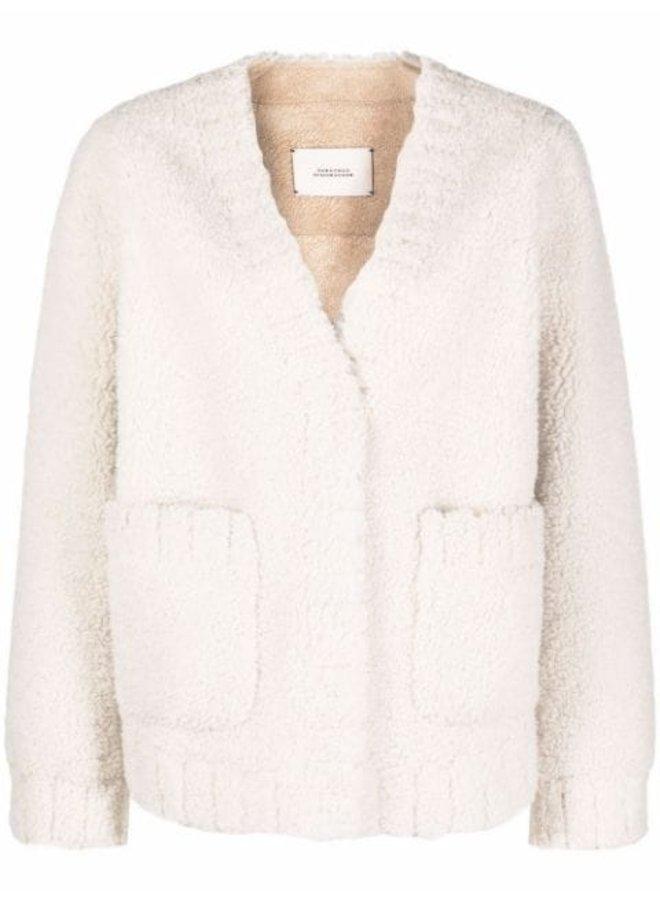 Twist On Shearling Jacket