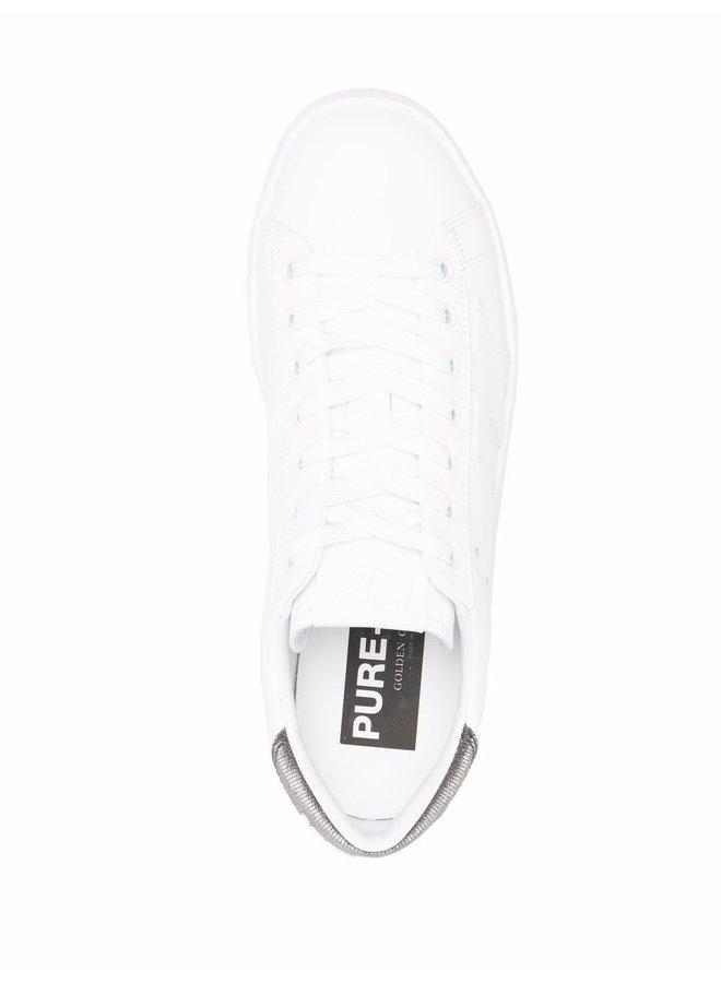 Leather/Glitter Heel Purestar