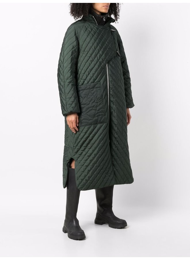 Recycled Ripstop Quilt Coat