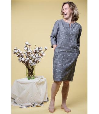 Brass Tacks Cotton dress, grey
