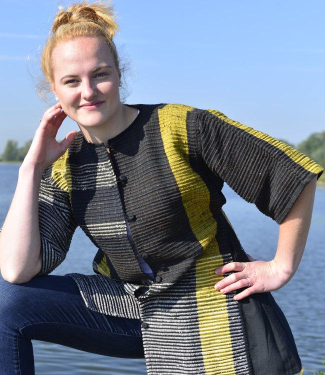 Cotton Rack Kimono jacket upcycled zero-waste