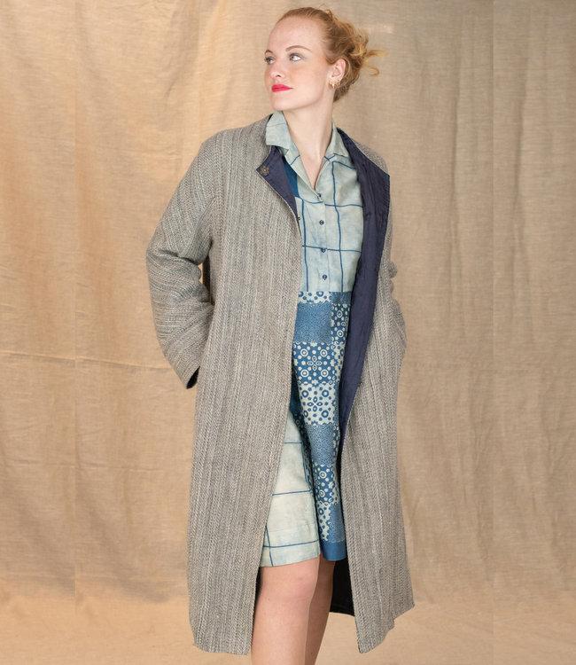 Akaaro Long coat Harsil Himalaya wool