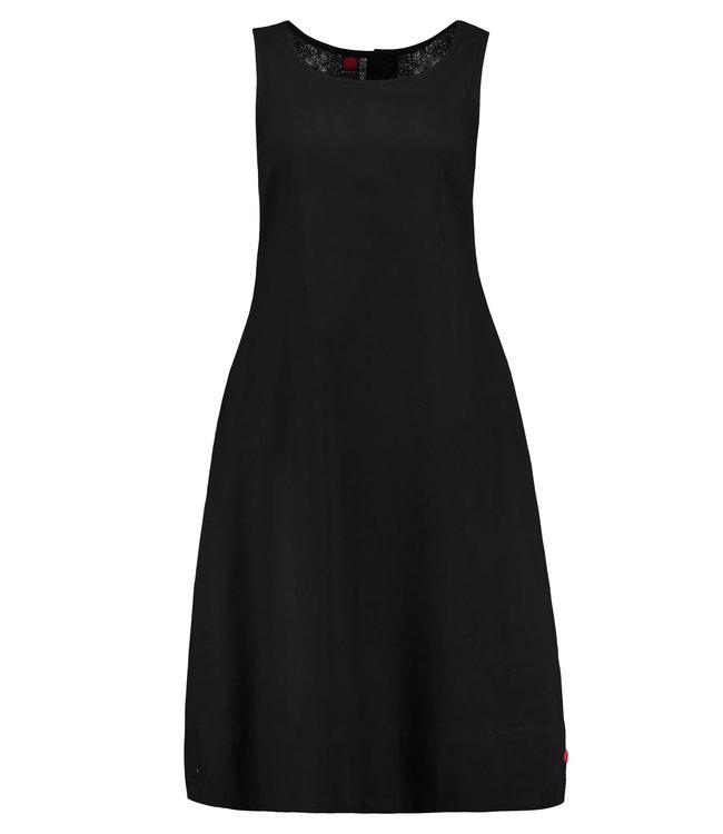 Upasana Black cotton dress sleeveless