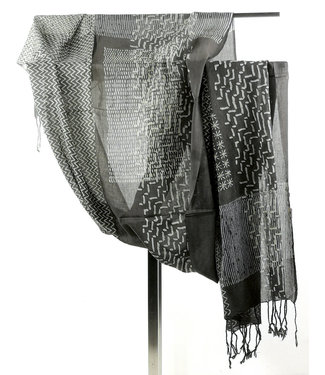 Upasana Brown cotton scarf