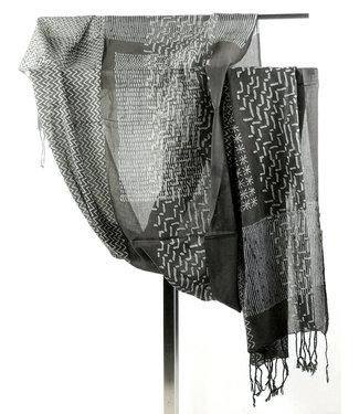 Upasana Katoenen sjaal bruin