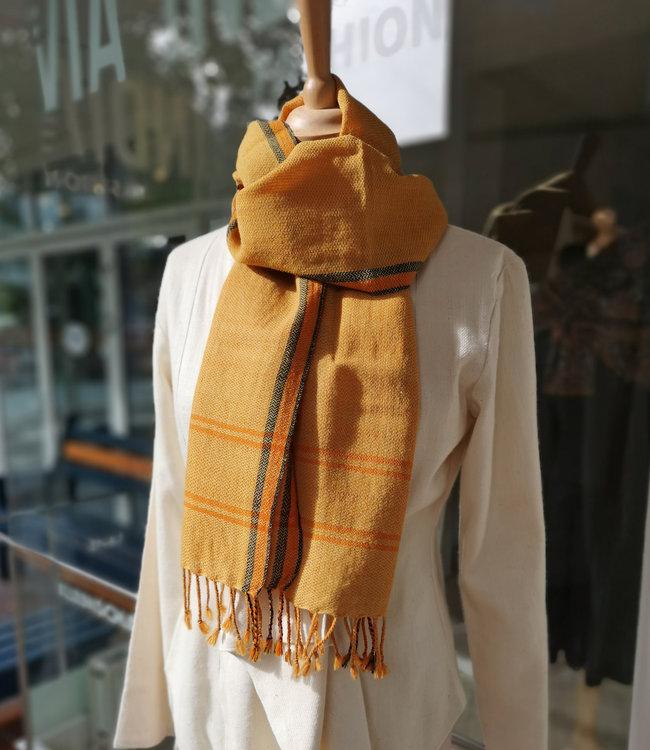 Avani Wollen sjaal oranje