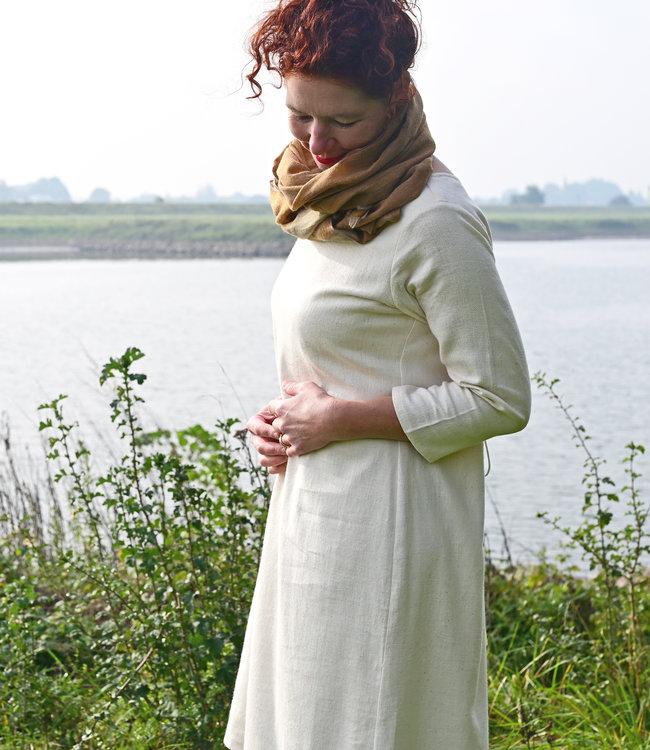 Cotton Rack Dress Khadi Cashmere cotton
