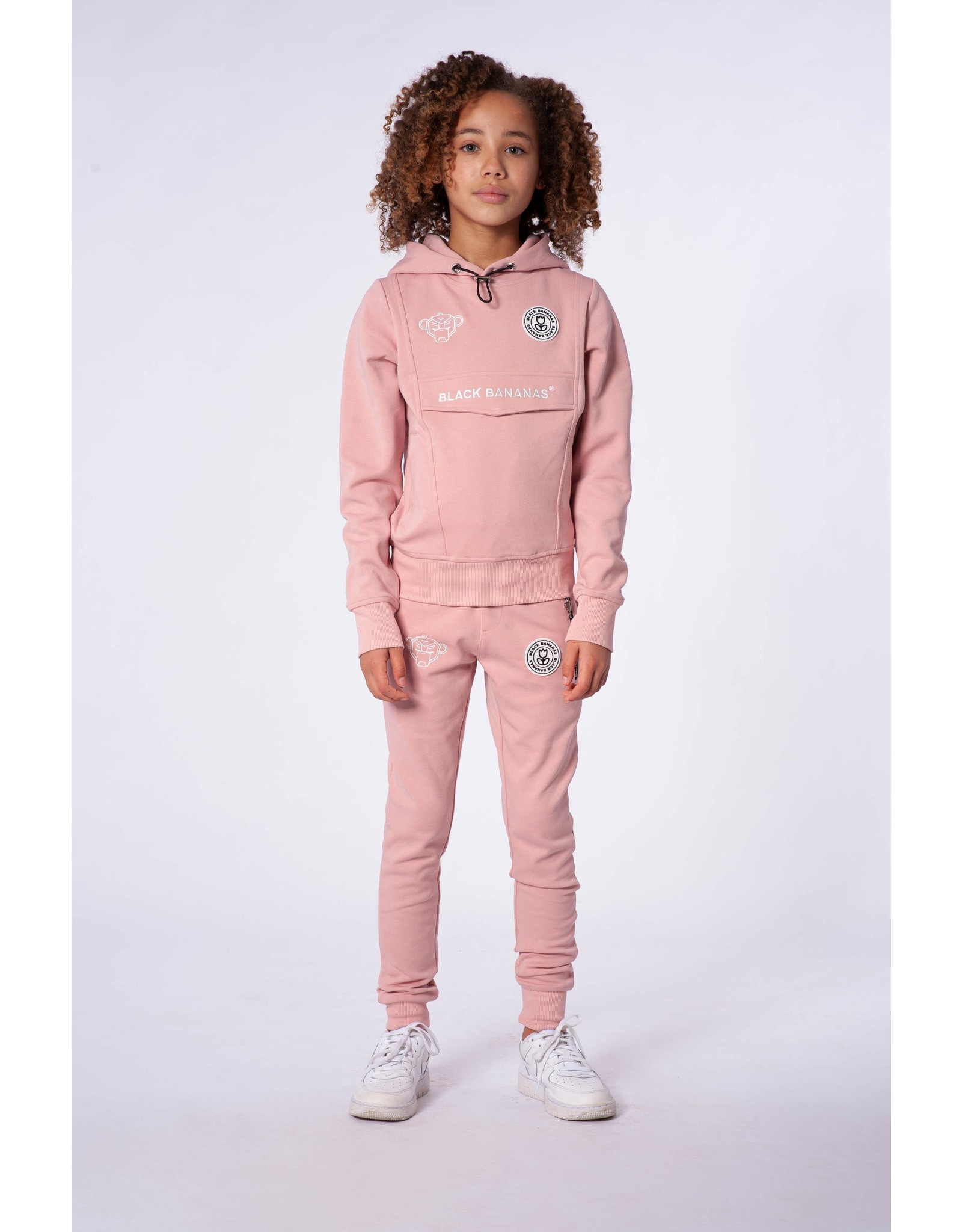 Black Bananas Jr. Girls Anorak Tracksuit