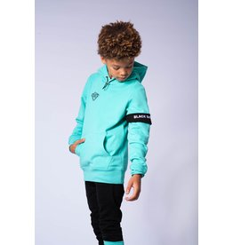Black Bananas Jr. Command Hoody black & aqua