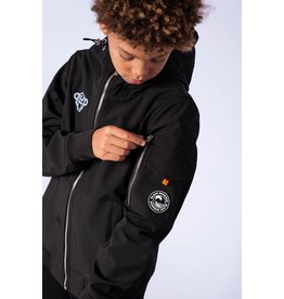 Black Bananas Jr. Softshell Jacket Black & Grey