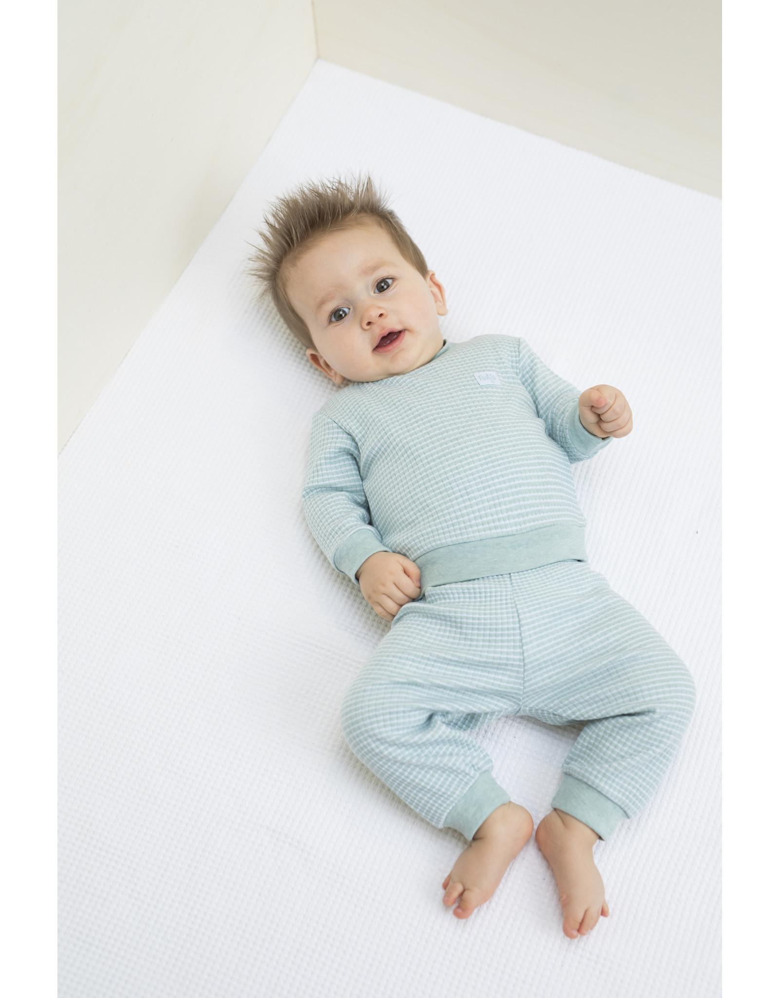 Feetje Pyjama groen melange