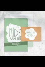Kadobon €15,-