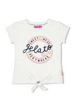 T-shirt Gelato wit