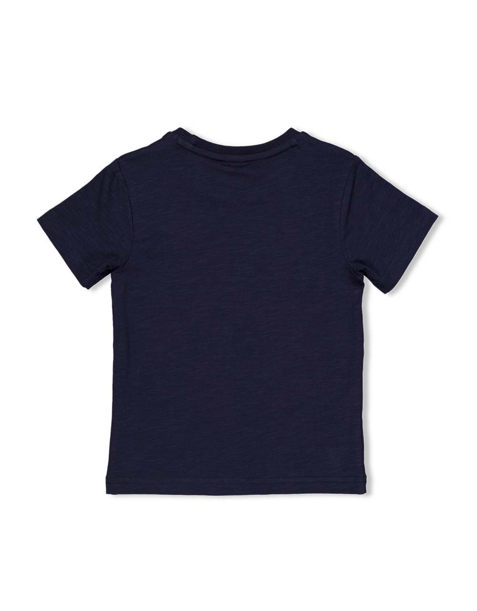 T-shirt Forever navy