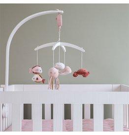 Little Dutch LD Houten muziekmobiel - Ocean pink