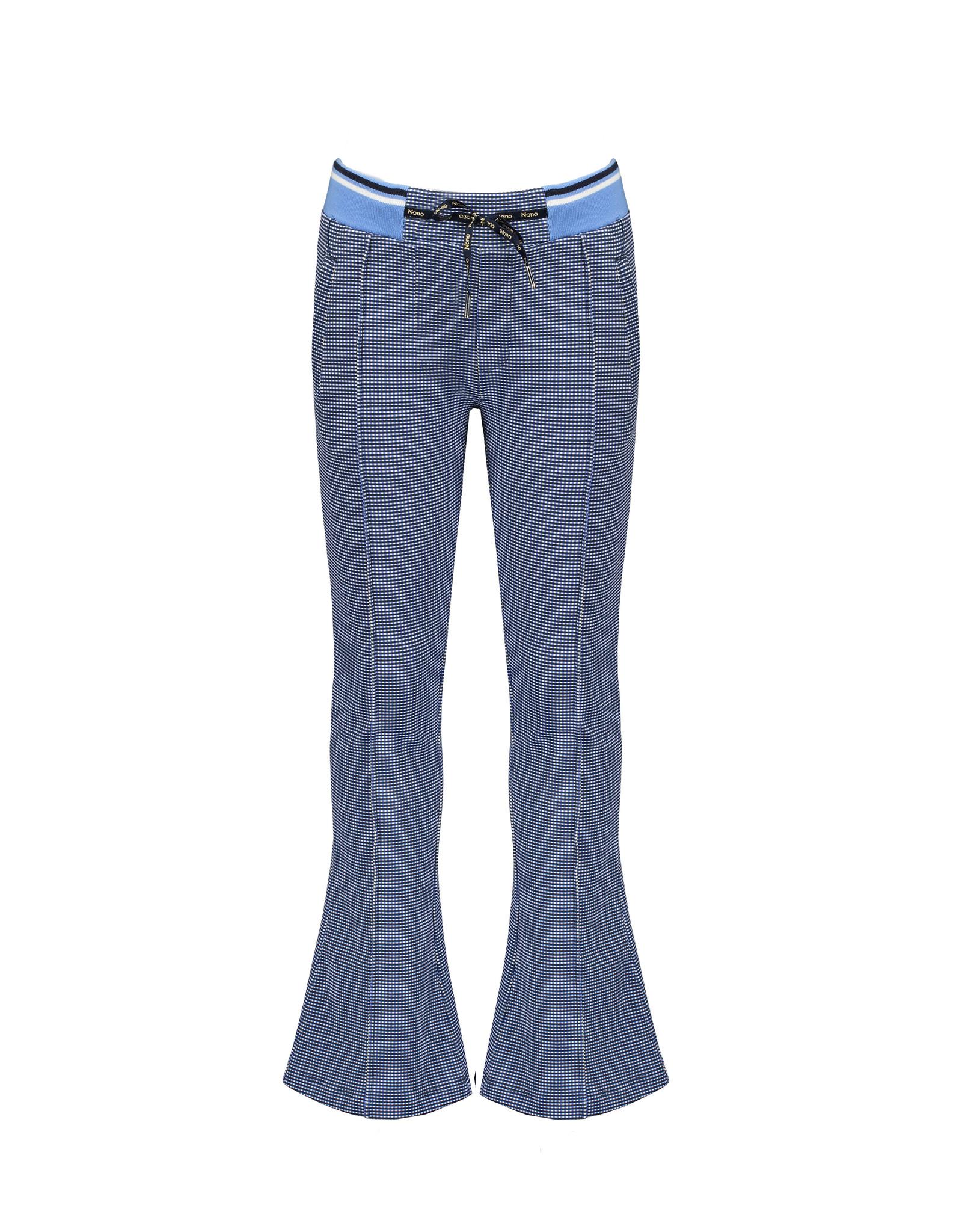 Nono Flared pants met ruitje