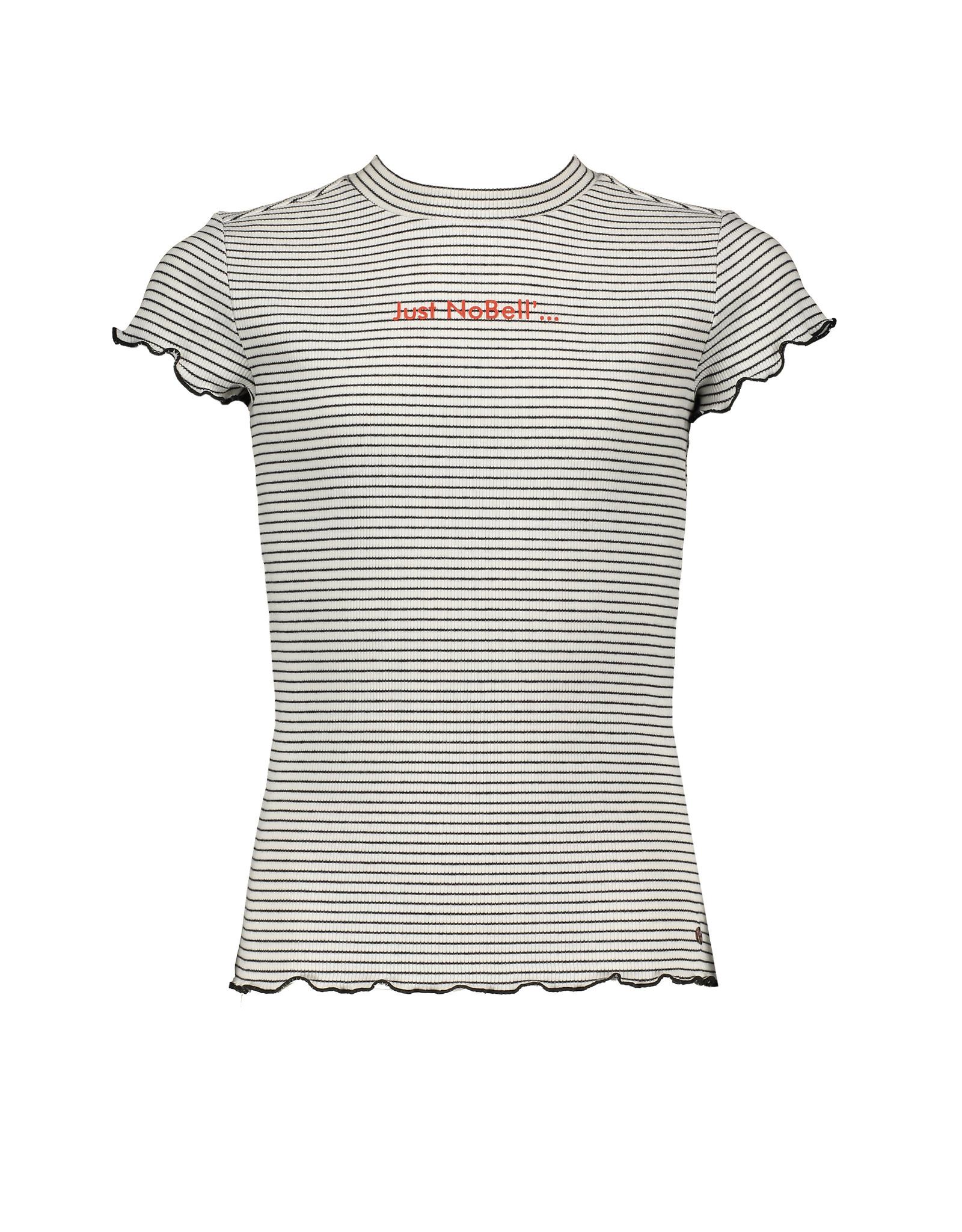 Nobell' Ribbed t-shirt 'just Nobell'