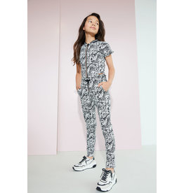Nobell' Jumpsuit met tropical print