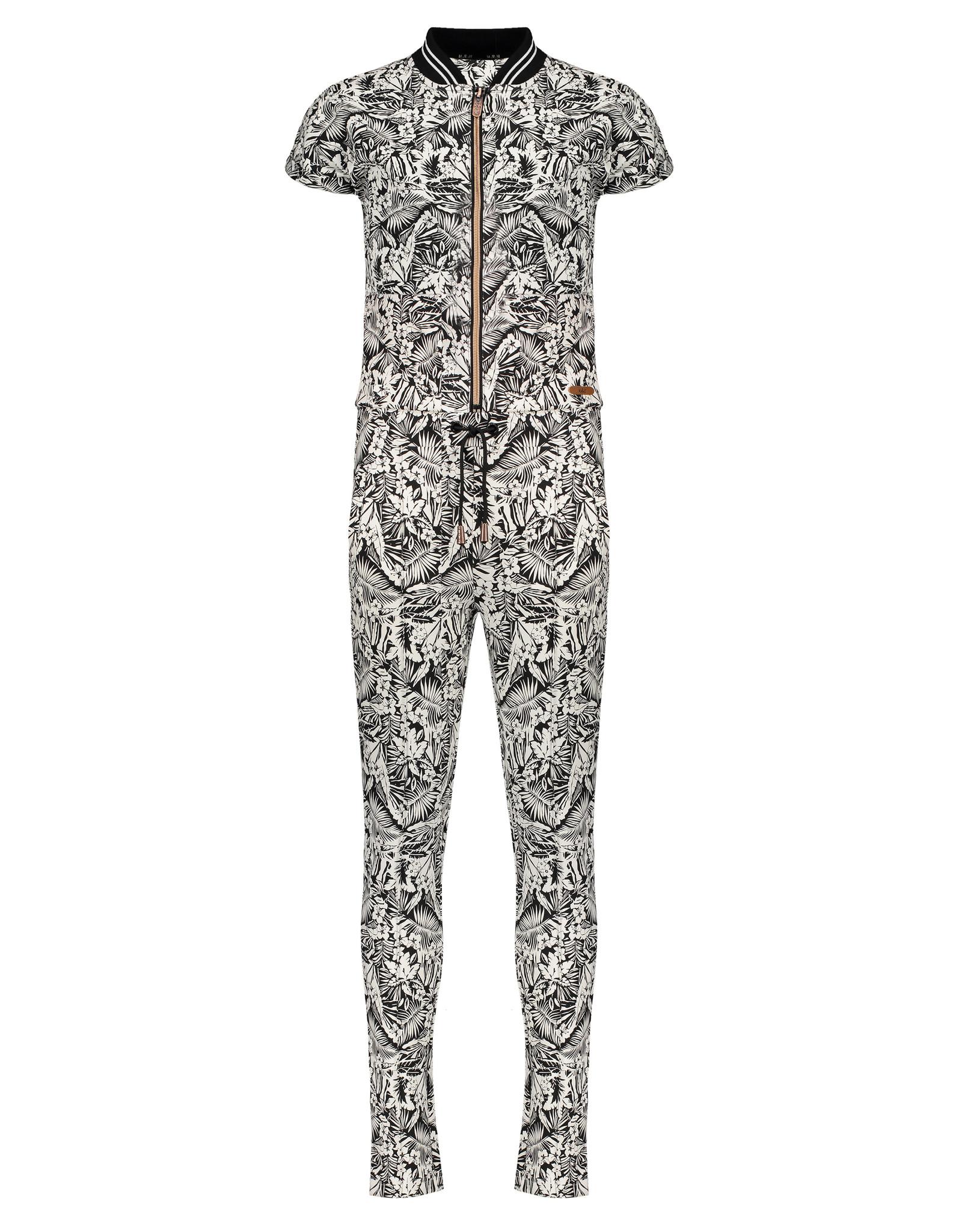 Nobell' Jumpsuit met tropical print