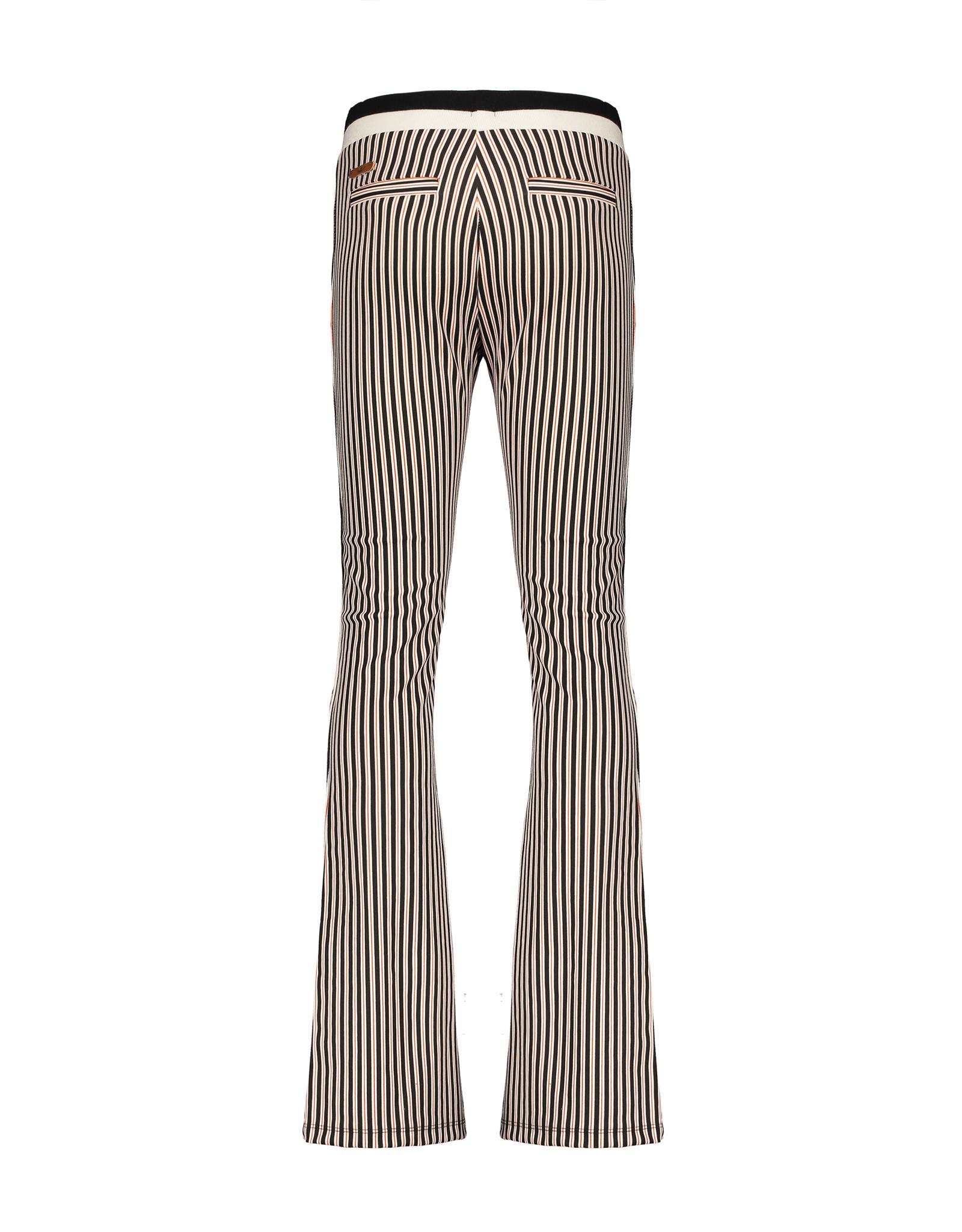 Nobell' Flared pants gestreept