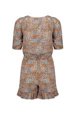 Nobell' Korte jumpsuit met print en ruffles