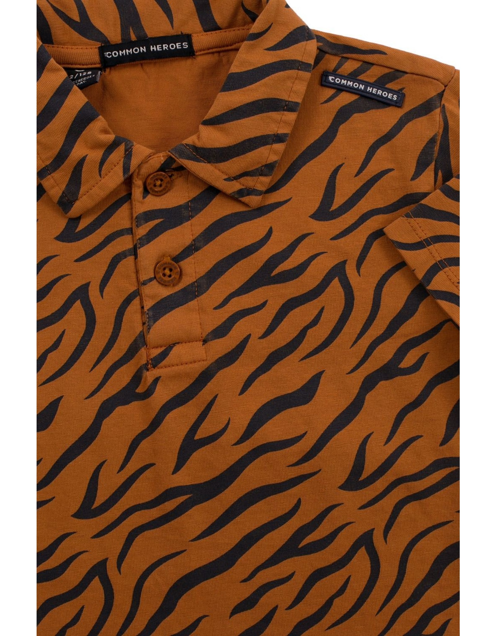 Common Heroes PHILIP POLO with AO TIGER PRINT
