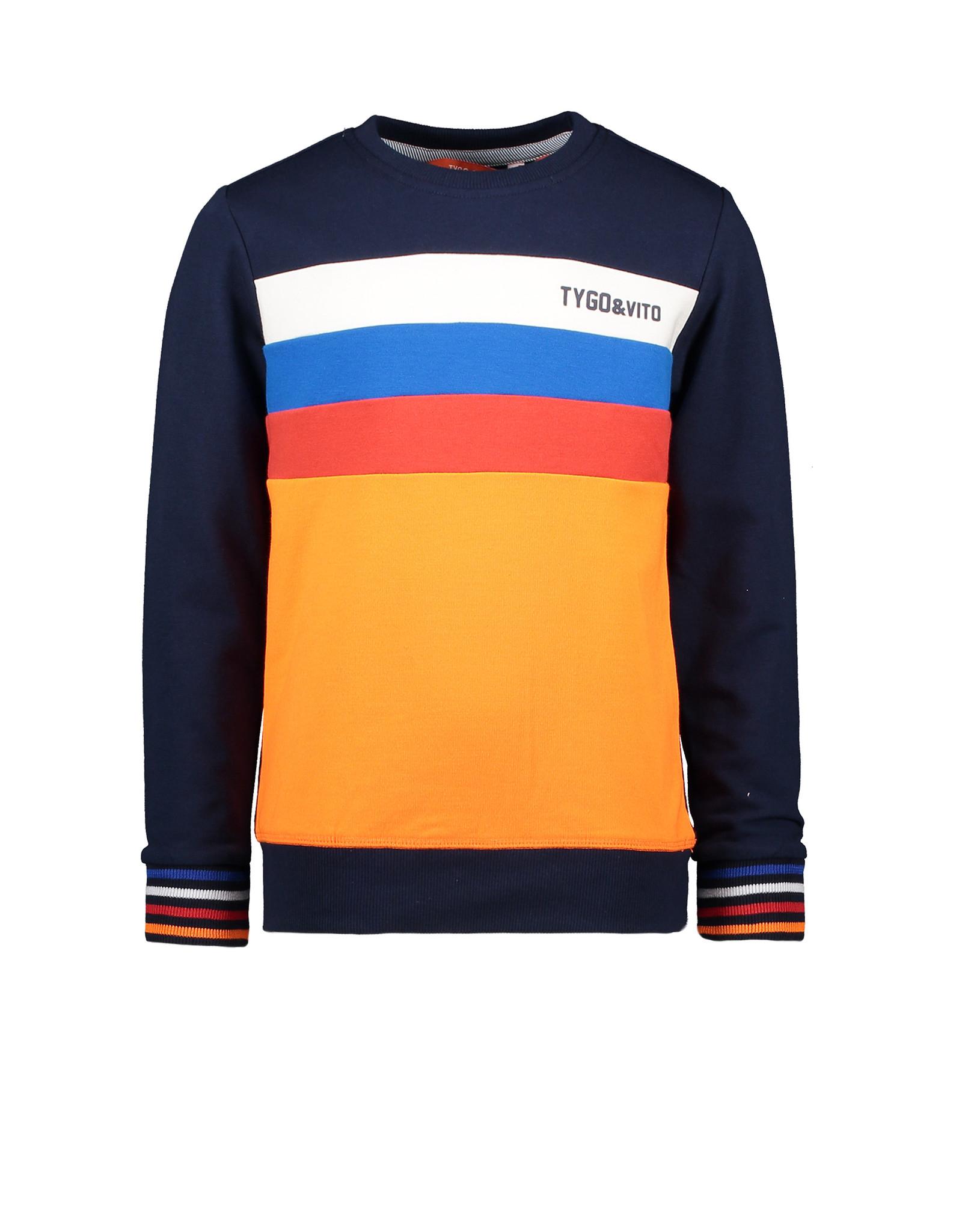 Tygo & Vito Sweater colourblock