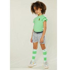 Nono Kiki rib shirt groen